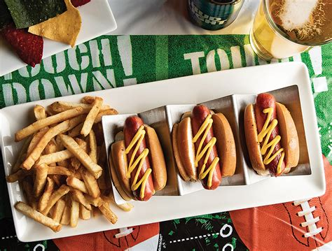 game day bite nathans famous hot dog sliders avenue