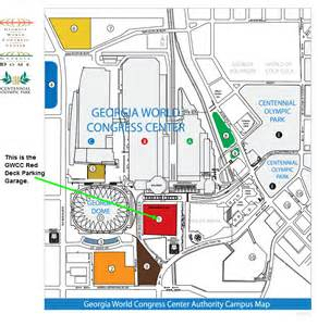 gwcc deck parking at 310 andrew intl blvd nw atlanta parking