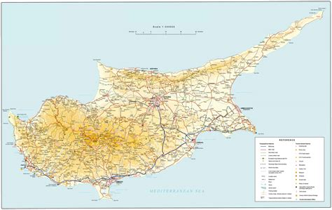 maps  cyprus map library maps   world