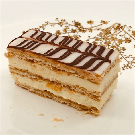 Cake layers contain more fat. Napoleon | Pastries by Randolph