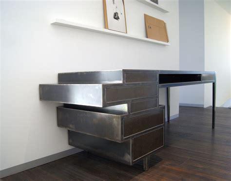 bureau en acier meuble en acier design noel 2017