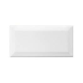 4x8 White Beveled Subway Tile neri white beveled 4x8