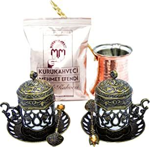 Visit us today and place your order! Amazon.com | Turkish Greek Coffee Maker Kitchen Set with Espresso Cups/Turkish Coffee Cups ...