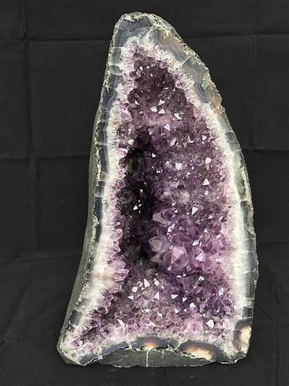 Amethyst Crystals Cathedral Cluster Druzy 1064 Natural