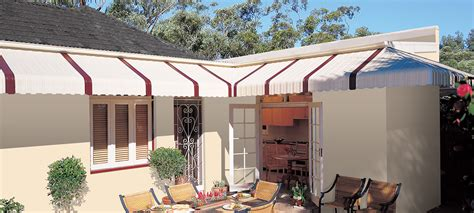 fixed metal awnings cairns blinds awnings cairns luxaflex