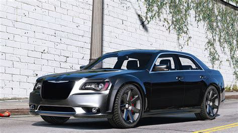 2012 chrysler 300 srt8 add replace tuning gta5 mods