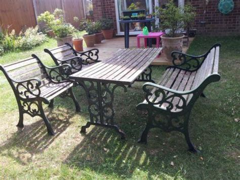 patio furniture ebay uk wrought iron garden furniture ebay