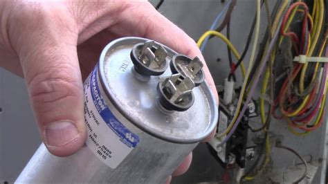 Central Air Conditioner Capacitor Wiring by A For Is What Unit Capacitor Ac