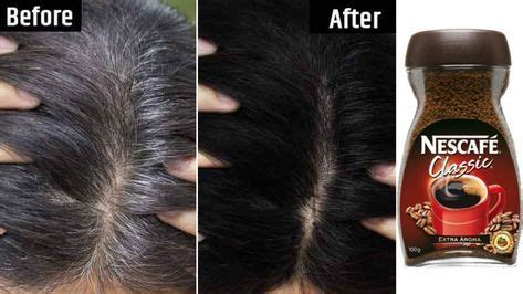 Though coffee powder always gives a better paste, you can make use of granulated coffee too. White Hair To Black Permanently in 30 Minutes Naturally ...