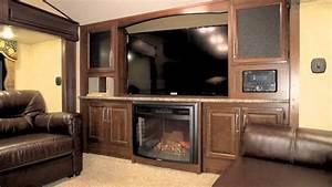 Cougar 337fls Front Living Room Floorplan  1 At Shows