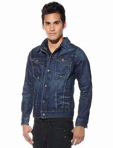 ROCK this denim G-Star jacket! Modeled here by Marvin ...