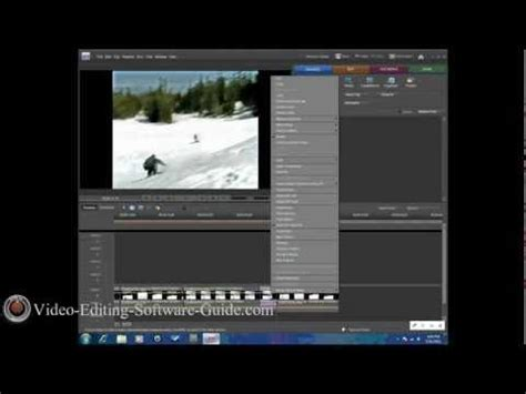 slow motion effect adobe premiere elements