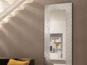 Miroir D Entrée : miroir rectangulaire mural pour hall d 39 entr e holly by riflessi design riflessi ~ Preciouscoupons.com Idées de Décoration