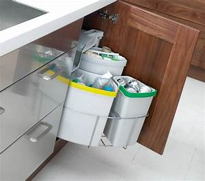 recycle containers for kitchen cabinets grease containers With interior design kitchen bins