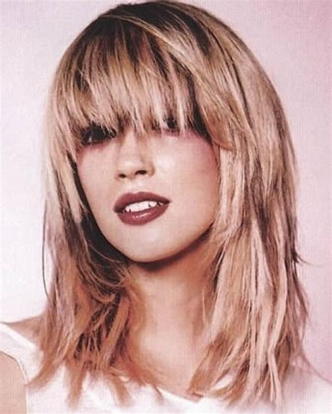 2020 Popular Long Choppy Layered Haircuts With Bangs