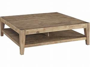 Casana Tyler Weathered Acacia 463939 Square Coffee Table