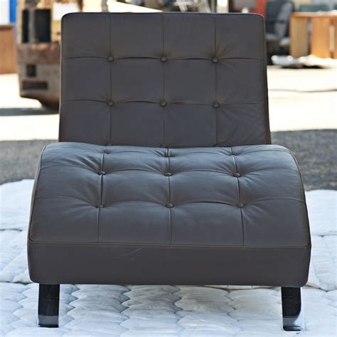 chaise barcelona contemporary barcelona style chaise lounge ebay