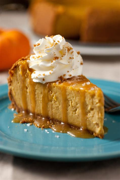 pumkin cheese pumpkin caramel cheesecake recipe dishmaps