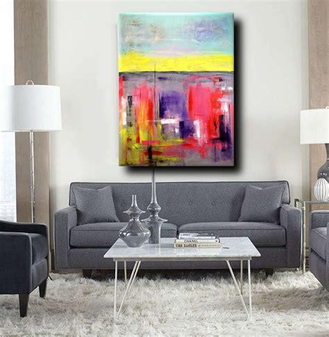 quadri per soggiorni moderni quadro moderno colorato per soggiorno 170x130 sauro bos