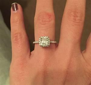 1.7 Carat Diamond Ring Princess | Wedding, Promise ...