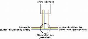 Wiring A Photocell Switch Unit  But Not  U0026quot Inline U0026quot