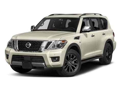 Pathfinder Boats Msrp by New 2018 Nissan Armada 4x4 Platinum Msrp Prices Nadaguides