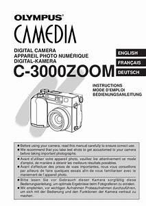 Olympus Camedia C 2500l Manual
