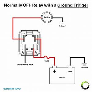 12v 40a Relay Wiring Diagram