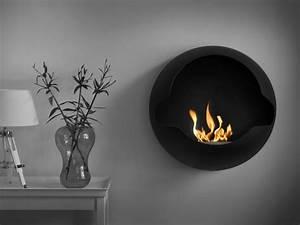 Chauffage à L éthanol : cheminee ethanol contemporaine ~ Premium-room.com Idées de Décoration