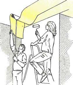 Decke Tapezieren Anleitung by Tipps Zum Richtig Tapezieren Tapeziertipps Und Anleitung
