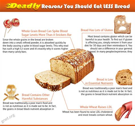 reasons bread   enemy  good health