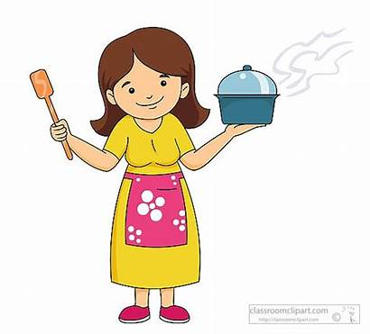 Clipart Mama Cook Mother Cooking Station Webstockreview