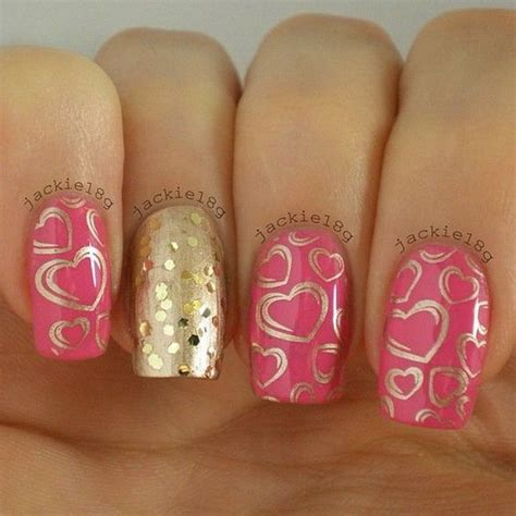 valentines nails design 70 s day nail ideas listing more