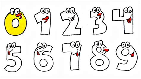 numbers drawing   draw  paint numbers