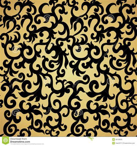 black  gold pattern wallpaper gallery