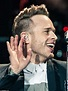 X Factor host Olly Murs puts on an energetic performance ...