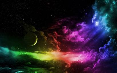 Rainbow Galaxy Background Wallpapers Backgrounds Wallpaperaccess Premium