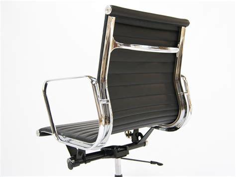 chaise de bureau eames chaise de bureau eames alu ea117 couleur noir