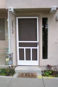 Storm Doors Vs Screen Doors Larrycampbellhomerepair