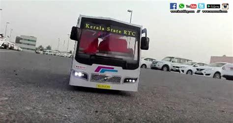 ksrtc bus model  remote control aanavandi travel blog