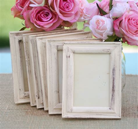 Wedding Frame Shabby Chic Rustic Distressed Paint By