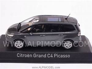 Norev Citroen Grand C4 Picasso 2013  Shark Grey   1  43