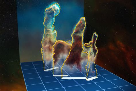 A new look in 3D at the Pillars of Creation - RocketSTEM