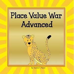 Place Value Games - War Advanced by Teacher's Planet | TpT