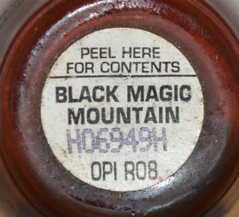 opi black magic mountain