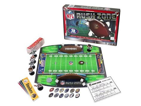 Nfl Rush Zone Board Game I Created Is At Target, Kmart