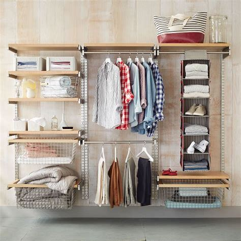 how to build a closet system build your own monorail closet system