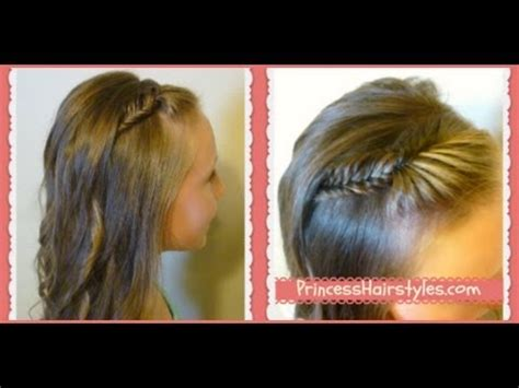 picture day hairstyles french fishtail braid bangs