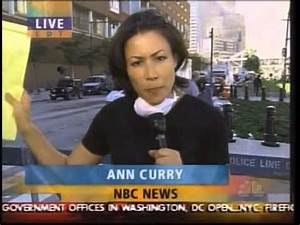 9/11 Sept 12 NBC Today Anne Curry Report From Ground Zero ...