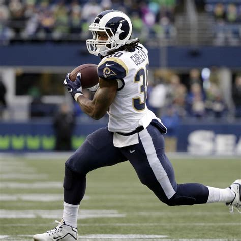 jared goff rams demolish seahawks    todd gurley